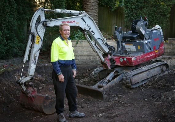 Brian excavator
