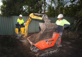 Brians excavate