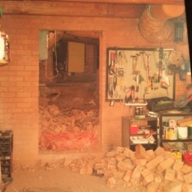 Underhouse excavation