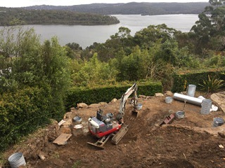 Sydney luxury Pool excavation