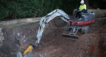 sandstonne excavation
